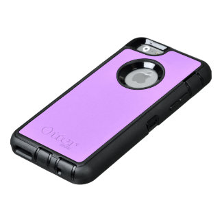 Lovely Lilac Solid Color OtterBox Defender iPhone Case