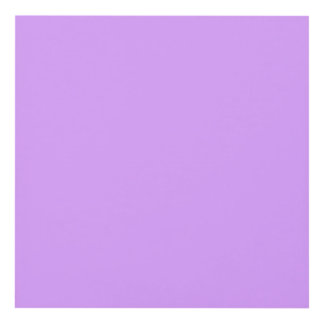 Lovely Lilac Solid Color Panel Wall Art