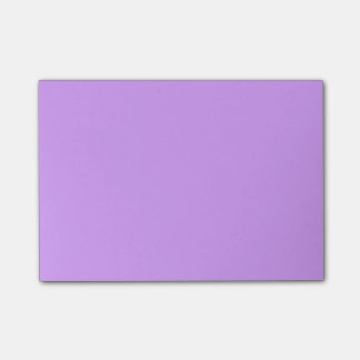 Lovely Lilac Solid Color Post-it® Notes