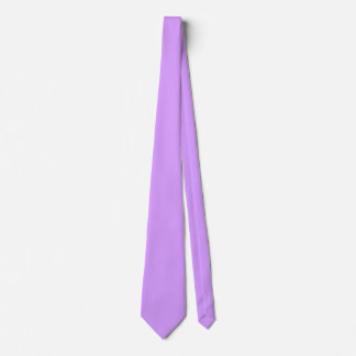 Lovely Lilac Solid Color Tie