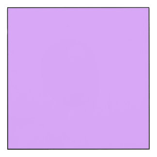 Lovely Lilac Solid Color Wood Print