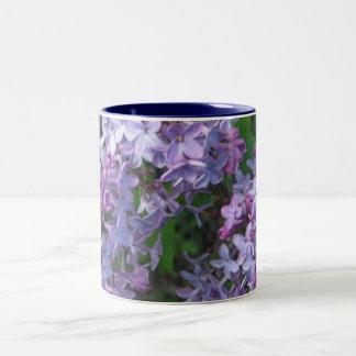 lovely lilac Two-Tone coffee mug