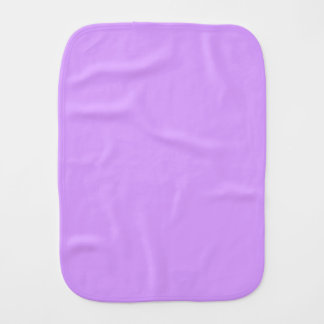 Lovely Lilac Baby Burp Cloths