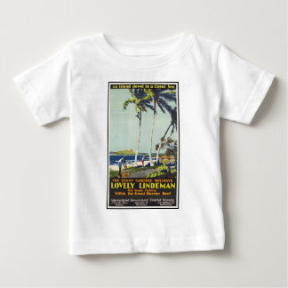 Lovely Lindeman Great Barrier Reef Baby T-Shirt