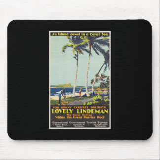 Lovely Lindeman Great Barrier Reef Mouse Pad
