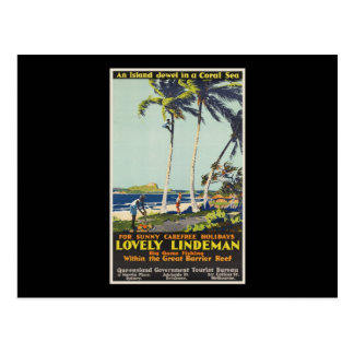 Lovely Lindeman Great Barrier Reef Postcard