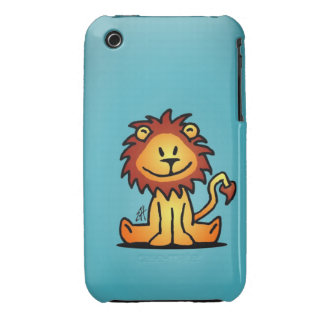 Lovely Lion Case-Mate iPhone 3 Cases