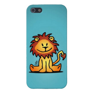 Lovely Lion Cover For iPhone SE/5/5s