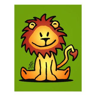 Lovely Lion Full Color Flyer