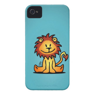 Lovely Lion iPhone 4 Case-Mate Cases