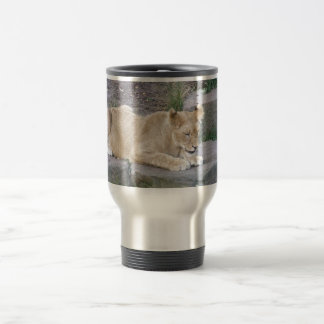 Lovely Lioness Travel Mug