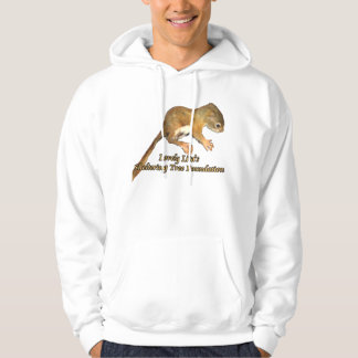 Lovely Lita's baby squirrel hoodie