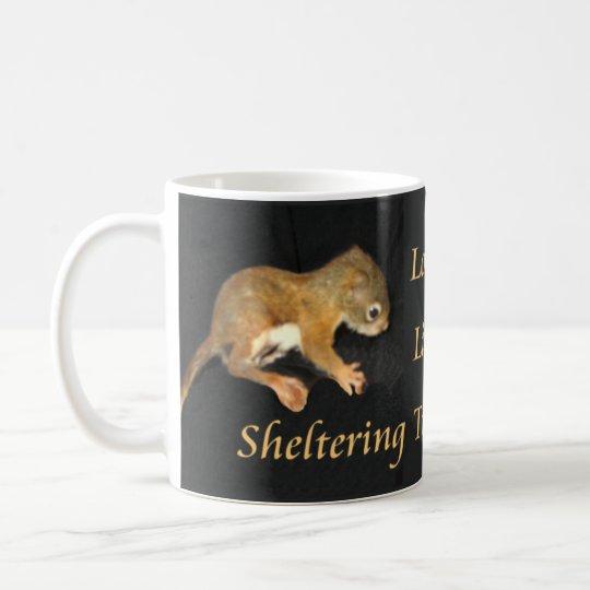 Lovely Lita's baby squirrel mug 2