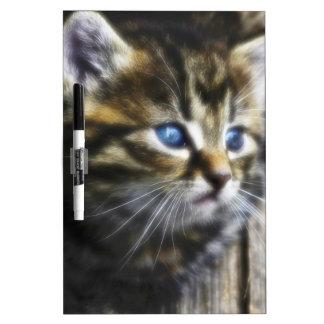 Lovely Little Cat Dry Erase Board