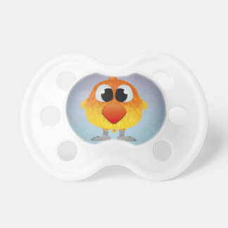 Lovely Little Orange And Yellow Bird BooginHead Pacifier