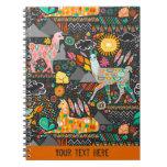 Lovely Llamas - Custom Notebook at Zazzle