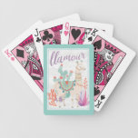 Lovely Llamas II Llamour Bicycle Playing Cards