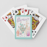 Lovely Llamas II Llamour Playing Cards