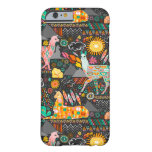 Lovely Llamas on Grey Barely There iPhone 6 Case