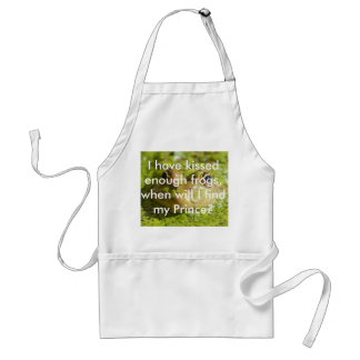 Lovely looking frog adult apron