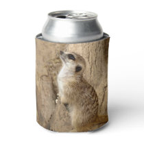 Lovely Meerkat Can Cooler
