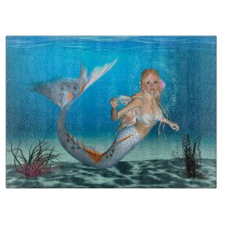 Lovely Mermaid Cutting Board