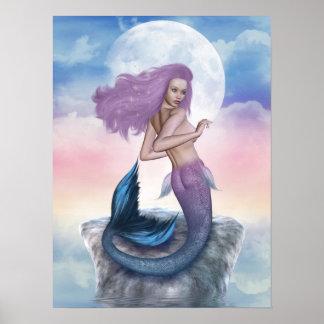 lovely mermaid poster