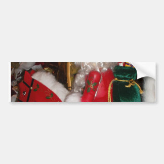 Lovely Merry Christmas Colorful Seasonal Ideas Bumper Sticker