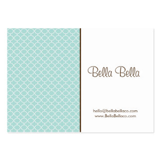 LOVELY MINT CALLING CARD