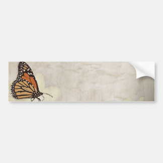 lovely monarch butterlies design bumper sticker