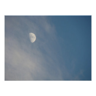 Lovely Moonscape Poster