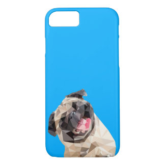 Lovely mops dog iPhone 8/7 case