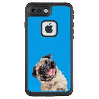 Lovely mops dog LifeProof FRĒ iPhone 7 plus case