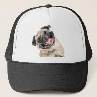 Lovely mops dog trucker hat