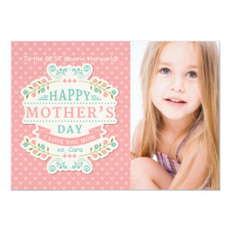 Lovely Mother's Day Photo Card