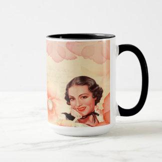 Lovely Mug In Retro Design