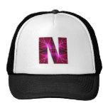 Lovely Name Initial N NN NNN n Let the World KNOW Mesh Hat