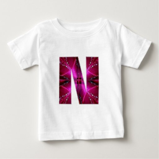 Lovely Name Initial N NN NNN n Let the World KNOW T-shirts