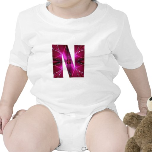 Lovely Name Initial N NN NNN n Let the World KNOW T Shirts