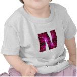 Lovely Name Initial N NN NNN n Let the World KNOW T-shirt