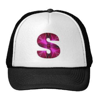 Lovely Name Initial S SS SSS Trucker Hats