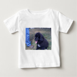 Lovely Newfie puppy (Newfoundland dog breed) Baby T-Shirt