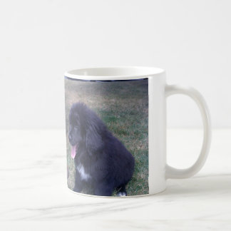Lovely Newfie puppy (Newfoundland dog breed) Coffee Mug