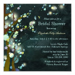 Lovely Night Elf Forest Bridal Shower Invitations