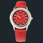 "Lovely &quot;NOW&quot; Watch (Red)<br><div class=""desc"">If you have clicked on this item, it must be because you saw something nice about it, didn&#39;t you? Then, why don&#39;t you take it home? THINK ABOUT IT! Believe it or not, this item is ""Rated WOW"" and what makes it really exceptional and spectacular is its incredible HIGH-QUALITY, from...</div>"
