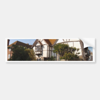Lovely Old House Bumper Sticker
