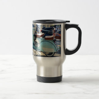 Lovely Old Scooter Travel Mug