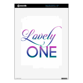 Lovely One Decal For The iPad 2