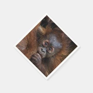 lovely orang baby napkin