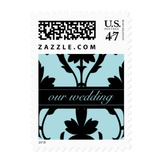 Lovely Our Wedding Small Postage